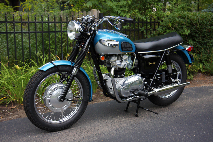 1968 Triumph Tr6r Tiger 650 Jack Pine Cycle